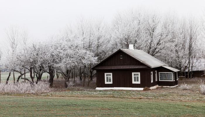 Sälja hus årstid vinter