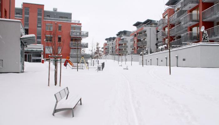 sälja lägenhet på vintern
